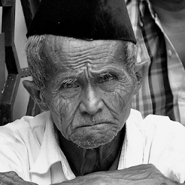 think by Arif Setiawan - People Portraits of Men ( Emotion, portrait, human, people )