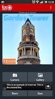Screenshot of FotoStatus