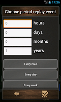 Screenshot of Countdown calendar