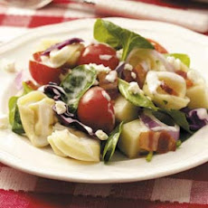 Layered Tortellini Salad Recipe