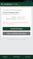 Screenshot of National Car Rental