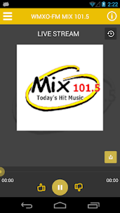 MIX 101.5 FM - screenshot