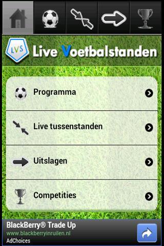 Live Voetbal Standen