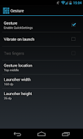 Screenshot of MAPPZ Quick Settings