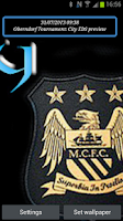 Screenshot of Manchester City Live Wallpaper