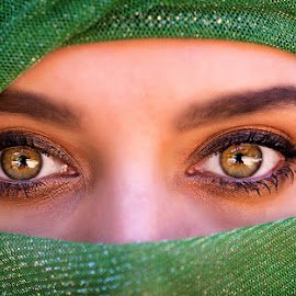 Green Eyes by Robbie Aspeling - People Portraits of Women ( face, fashion, green, woman, green eyes, eyes )