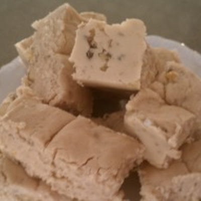 Maple Black Walnut Fudge