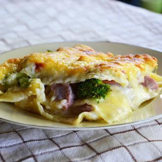 Broccoli Ham Lasagna Recipes