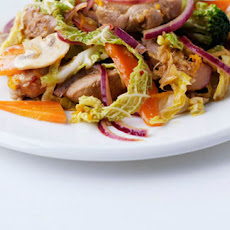 Pork And Ginger Stir-fry