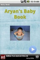 Screenshot of Baby book