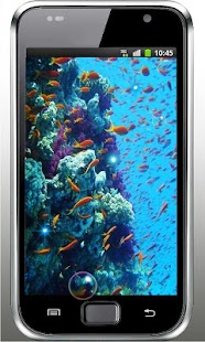 Fish Underwater live wallpaper - screenshot