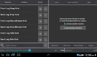 Screenshot of Total Control: TaeKwonDo Pro