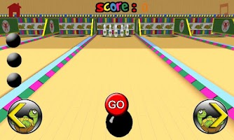 Screenshot of turtles bowling for children