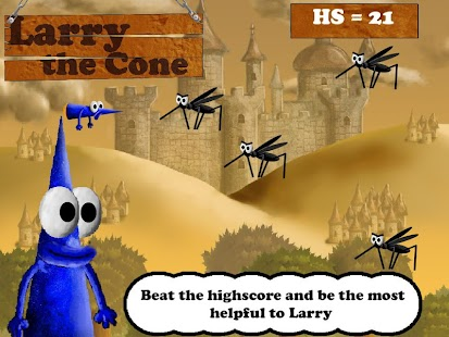 Larry the Cone - Free - screenshot