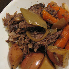 East Meets West Slow Braised Chuck Roast