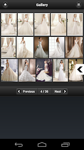 Wedding Dresses Design Ideas - screenshot