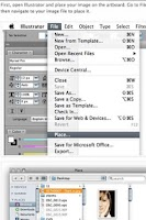 Screenshot of Adobe Illustrator Tutorials