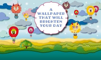 Screenshot of Air Balloon Magic LWP Free