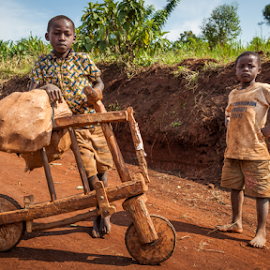 Mbao baiskeli by Wim Moons - Transportation Bicycles ( oeganda, mbao baiskeli, western region, wooden bike, uga, kirirema )