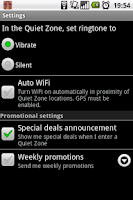 Screenshot of ShushMe Free - silence phone
