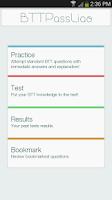 Screenshot of BTTPassLiao -Basic Theory Test