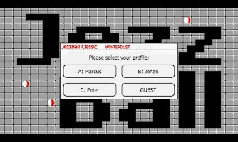 Screenshot of JezzBall Classic