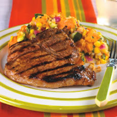 Caribbean Jerk Pork Chops
