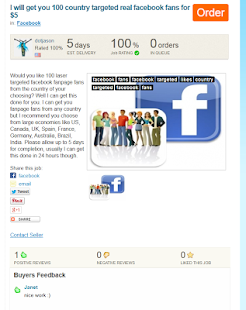 Social Gigs Marketplace - screenshot