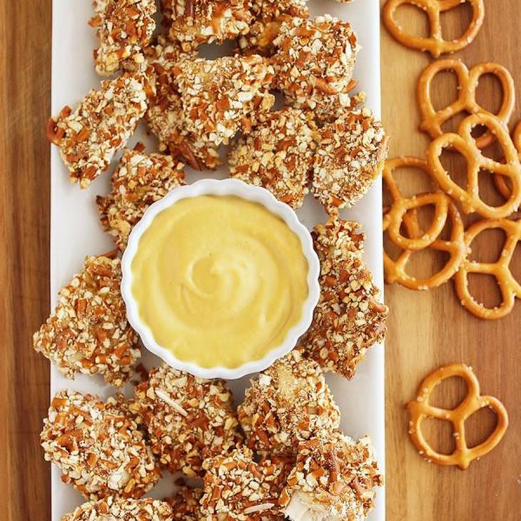 Honey Mustard Pretzel Chicken Bites Recipe   Yummly