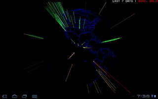 Screenshot of 3D Earthquake
