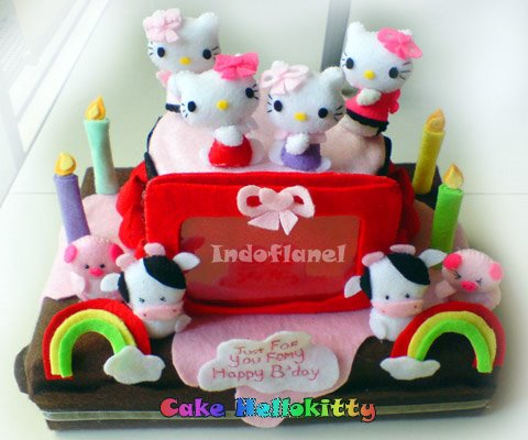 HEllokitty Cute Cake