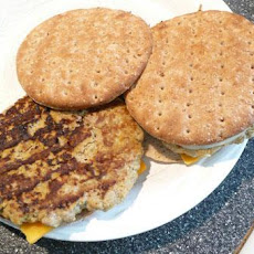 Turkey Pumpkin Burger