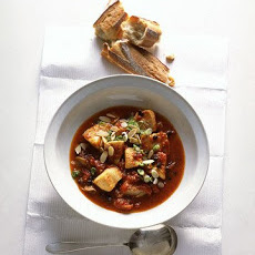 Black Cod in Tomato-Saffron Stew