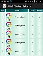 schedule liga bbva
