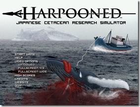 harpooned