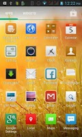 Screenshot of Orchid Theme