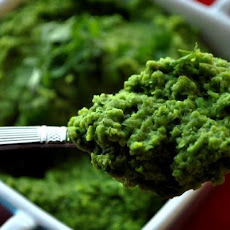 Quick Pea Pesto Side Dish