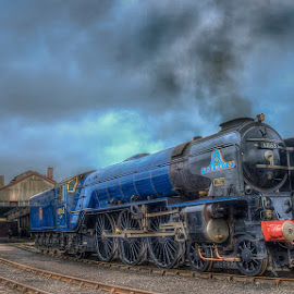 Tornado by Steve Dormer - Transportation Trains
