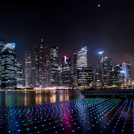 iLight Marina Bay 2014 by Toh Wee Siang - City,  Street & Park  Skylines