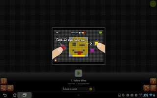 Screenshot of ColorUp funny game