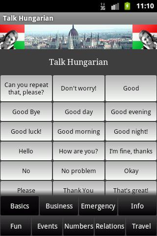 Talk Hungarian