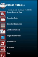 Screenshot of Buscar Ruta Transmilenio Bog