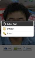 Screenshot of Photo Distorting Mirror