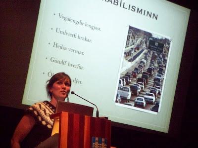Sigrún Helga Lund formaður.