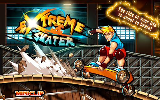 extreme-skater for android screenshot