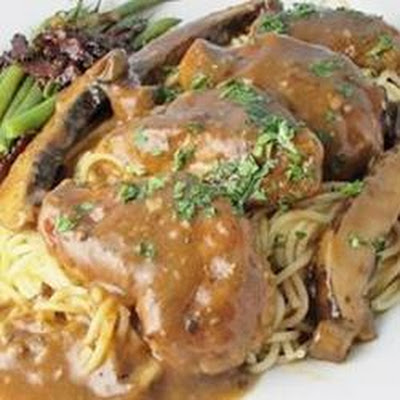 Chicken Marsala with Portobello Mushrooms