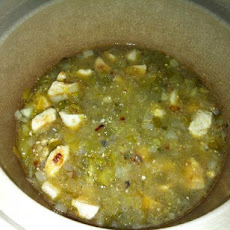 White Crock Pot Chili (With Tomatillo)