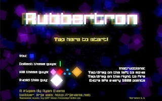 Screenshot of Rubbertron