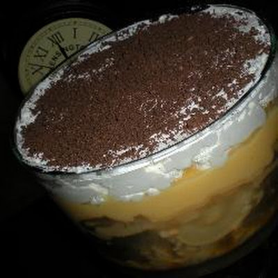 Ginger Pear Trifle