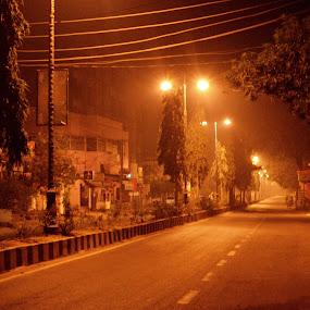 by Bibha Barssha Mohanty - City,  Street & Park  Street Scenes (  )